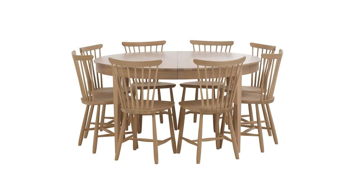 Splitter nya Runt matbord - Björk Ø148 cm | Norrgavel VQ-04