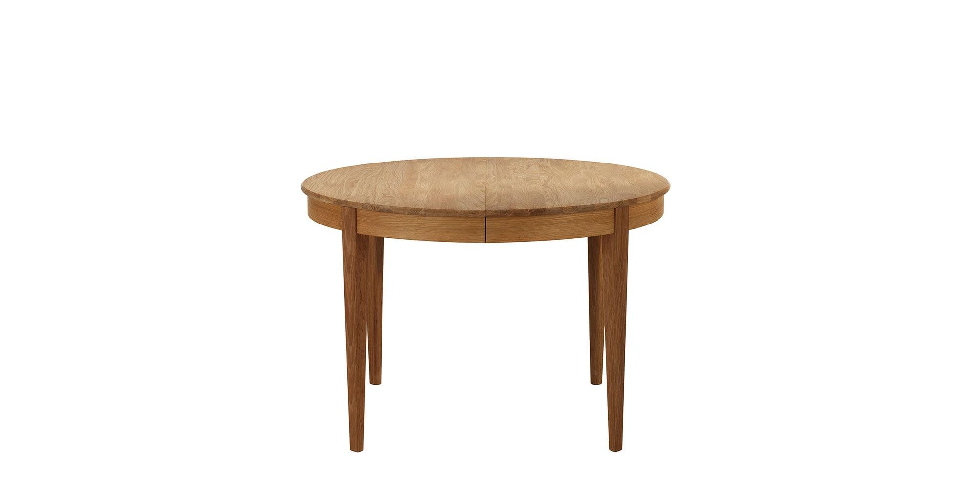 Runt matbord Ek Ø112 cm | Norrgavel