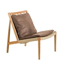Easy Chair Ek olja Skinn Dunes brun