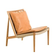 Easy Chair Ek olja Skinn Dunes cognac